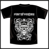Rise of Realism t-shirt black small