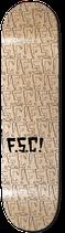 """FSC Repeated blk/clr 8.125"""""""