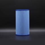 Filtereinlage 235x126 Lamelle Blau Wellis (ohne Gewinde)