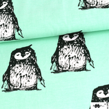 Sarouels pingouins fond menthe