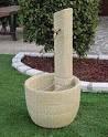 "ART. G6022, BAR341-TUF Bonfante fontanella in pietra ricostruita ""Los Angeles"""