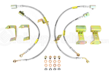 Goodridge High Performance Stahlflex Bremsleitungen G-Stop Brake Line Kit