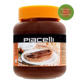 Piacelli Haselnuss-Nougat-Creme im 400g Glas