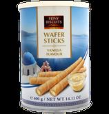 Waffelröllchen mit Vanillegeschmackcreme 400g - Feiny Biscuits