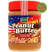 Erdnussbutter crunchy Gina 350g