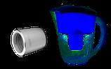 H2Cap plus + Aquaspace Tischkaraffe