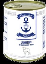 Hanseatenfutter Lamm 800g
