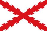 Bandera Española - Cruz de Borgoña