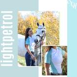 XH|WEAR Summer Shirt - Diamond Edition in Light Petrol / White
