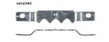 Zackenaufhänger Schmal/verzinkt im Set mit Kreuzschlitzschrauben 2,0x6mm