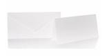 Blanko Klappkarte mit Umschlag im Set  Format Din lang in verschiedenen Farben