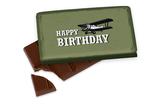 Schokolade Happy Birthday, Flugzeug