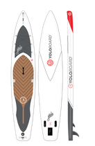 12'6 Inflatable TR Touring Board