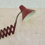 Vintage wandlamp Harmonica