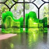 Groene Asbakken (set van 2)
