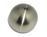 Edelstahlhohlkugel D = 80 mm | Gewinde = M8 | Bestell-Nr.: 717080M8