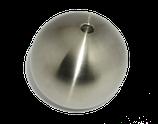 Edelstahlhohlkugel D = 70 mm | Gewinde = M8 | Bestell-Nr.: 717070M8