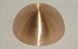 Kupferhalbhohlkugel D = 80 mm | Bestell-Nr.: 624080K