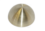 Messinghalbhohlkugel D = 40 mm | Bestell-Nr.: 622040K