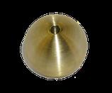 Messingmassivkugel D = 35 mm | Gewinde M8 | Bestell-Nr.: 513035