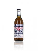 Pastis un Marseillais 1,0 ltr. 45% vol Alk. Cristal Limimana