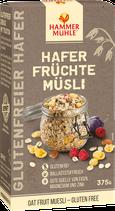 Hammermühle Glutenfreies Hafer Früchte-Müsli 375 g