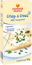 Hammermühle Crisp & Cross Knusperbrot 150 g