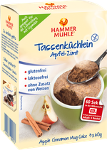Hammermühle Tassenküchlein Apfel-Zimt