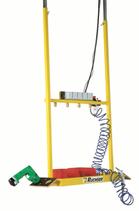Gerätehalter für Deckenlaufschienen RU-GH-4DEW