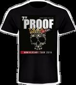 7TY PROOF - 20 Years Anniversary-Tour Shirt - RESTPOSTEN nur noch einzelne Größen lieferbar!