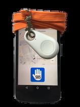 pe-SOS Necklace PREMIUM  - Alarm und  Wegstreckenanzeige (alarmunabhängig!) - nicht unentdeckt bleiben