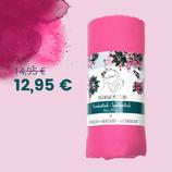 Reisehandtuch mit Geheimfach   70x140cm   Meerjungfrau-pink