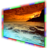 Led retro cornice RGB