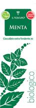 Il Modicano - fein gemahlene extra dunkle Schokolade mit Minze