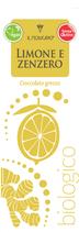 Il Modicano - grob gemahlene vegane Bioschokolade - mit Zitrone und Ingwer