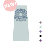 YOGA MAT MANDALA - MINT WITH BLUE PRINT - 4MM