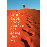 Postkaart Don,t look back