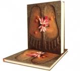 Notitieboek Buddhas footsteps 23x18 cm