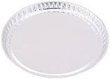 Charola Redonda de Aluminio, Tamaño  Grande: 101 x 8 mm. Para peso de Muestras, Paquete con 50 piezas HEATHROW SCIENTIFIC HS14522