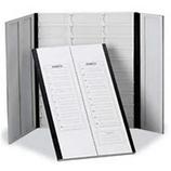 """Charola de cartón """"Tipo Folder"""" para 20 laminillas de 25x75mm (1""""x3""""), HEATHROW SCIENTIFIC HS120196"""