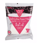 V60 Coffee Paper Filter 01 | white | 100 Stück