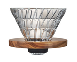 V60 Glass Dripper Olivenholz 02