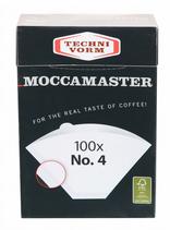 Moccamaster Kaffeefilter weiß Nr. 4 (Art.Nr. 85022)