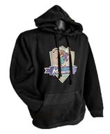 Moskitos Hoodie schwarz mit Logo-Druck