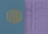 Energiekissen Blau + Flieder