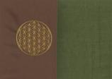 Energiekissen Braun + Moosgrün
