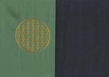 Energiekissen Mintgrün + Marine