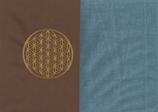 Energiekissen Braun + Schwedenblau
