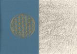 Energiekissen Blau + Baumwollplüsch