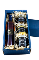 Honigbox Met mit Heidelbeere